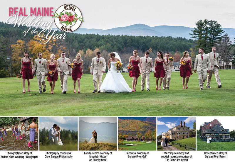 Sunday River And Bethel Maine Weddings